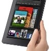 small version of hand holding Kindle Fire