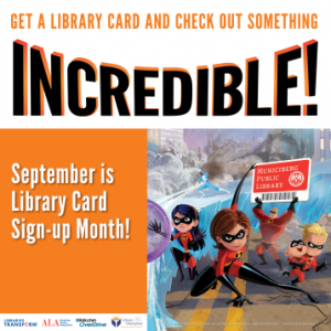 Library Card sign-up month 2018